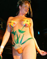 6th Annual Hog's Breath Home-Made Bikini Contest.